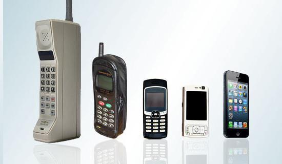 История появления мобильного телефона