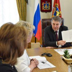 Состоялась рабочая встреча Губернатора Брянской области А.В. Богомаза с руководством Карачевского района
